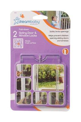 Dreambaby slot voor schuifdeuren en -ramen | 2 stuks