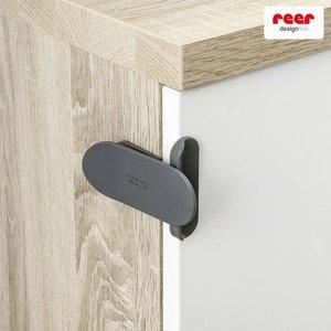 Designline slot voor electrische apparaten, schuifdeuren en nog veel meer | 2 stuks antraciet