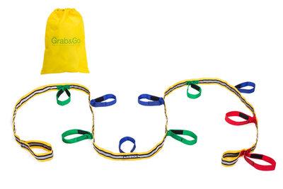 Grab & Go kinder wandelkoord / evacuatiekoord | 10-kids
