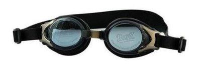 Banz Kidz zwembril zwart