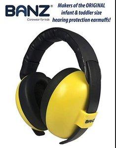 Banz Gold goudgele gehoorbeschermer