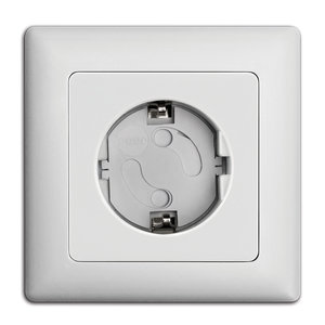 Reer zelfklevende stopcontactbeveiligers Wit (10 stuks)