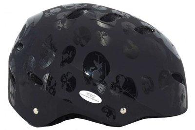 zwarte skatehelm