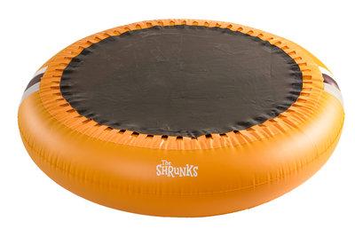 The Shrunks trampoline