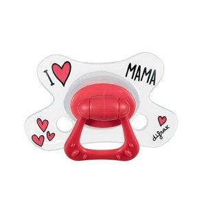 Fopspeen Difrax 12-18 maanden Natural I Love Mama