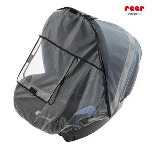 REER Designline Baby regenbescherming voor autostoeltjes | Antraciet