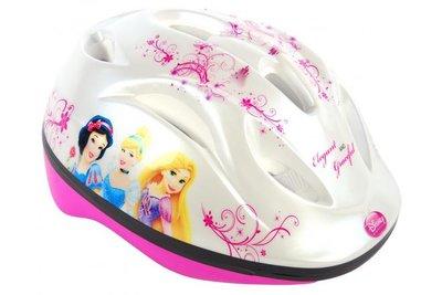 Disney Princess Fietshelm - Wit Roze - 51 tot 55 centimeter