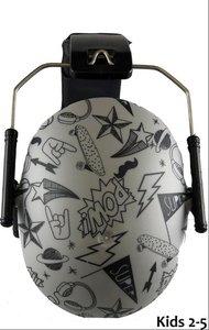 BANZ Bubzee baby gehoorbeschermer Graffiti