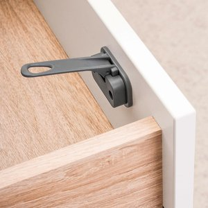 Reer DesignLine kast- en ladebeveiliging antraciet
